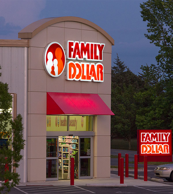 Family Dollar Architectural Elements Design and Manufacture